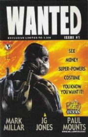 Wanted #1 Wizard World Texas Variant Top Cow comic book